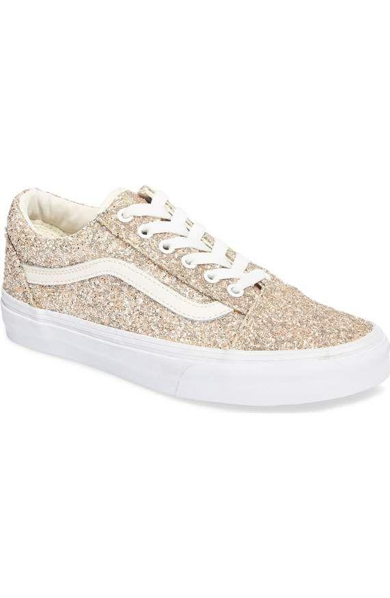 Vans Old Skool Sneaker (Women) | Nordstrom | Quinceanera shoes, Girly shoes, Vans old skool sneaker