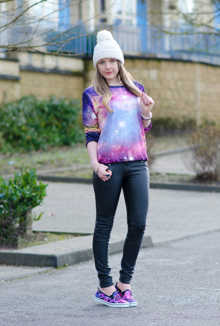 galaxy-print-outfit – Raindrops of Sapphire