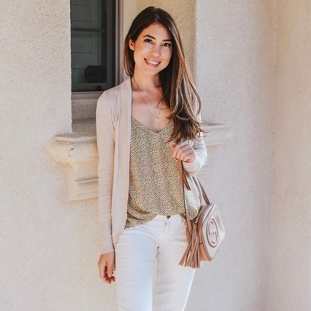 How to Wear White Jeans with This Season\'s Top New Fashion Trends