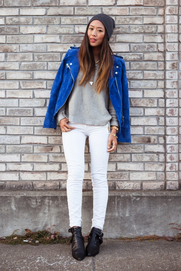 how to wear white jeans with this seasons top new fashion trends herstylecode 7 How to Wear White Jeans with This Season's Top New Fashion Trends