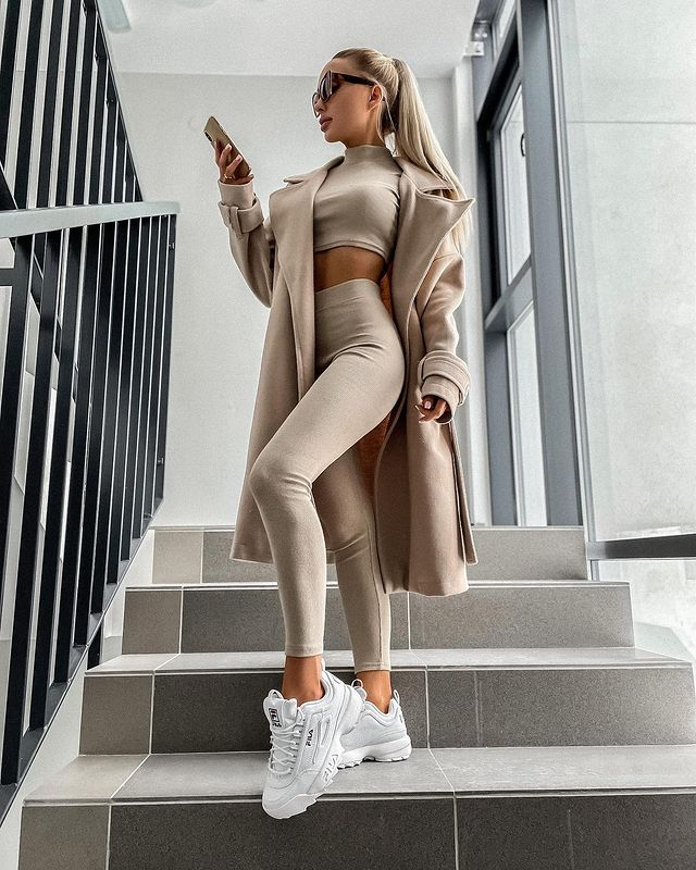 What to Wear with Fila Disruptors - Outfit Ideas for Women with Fila Shoes