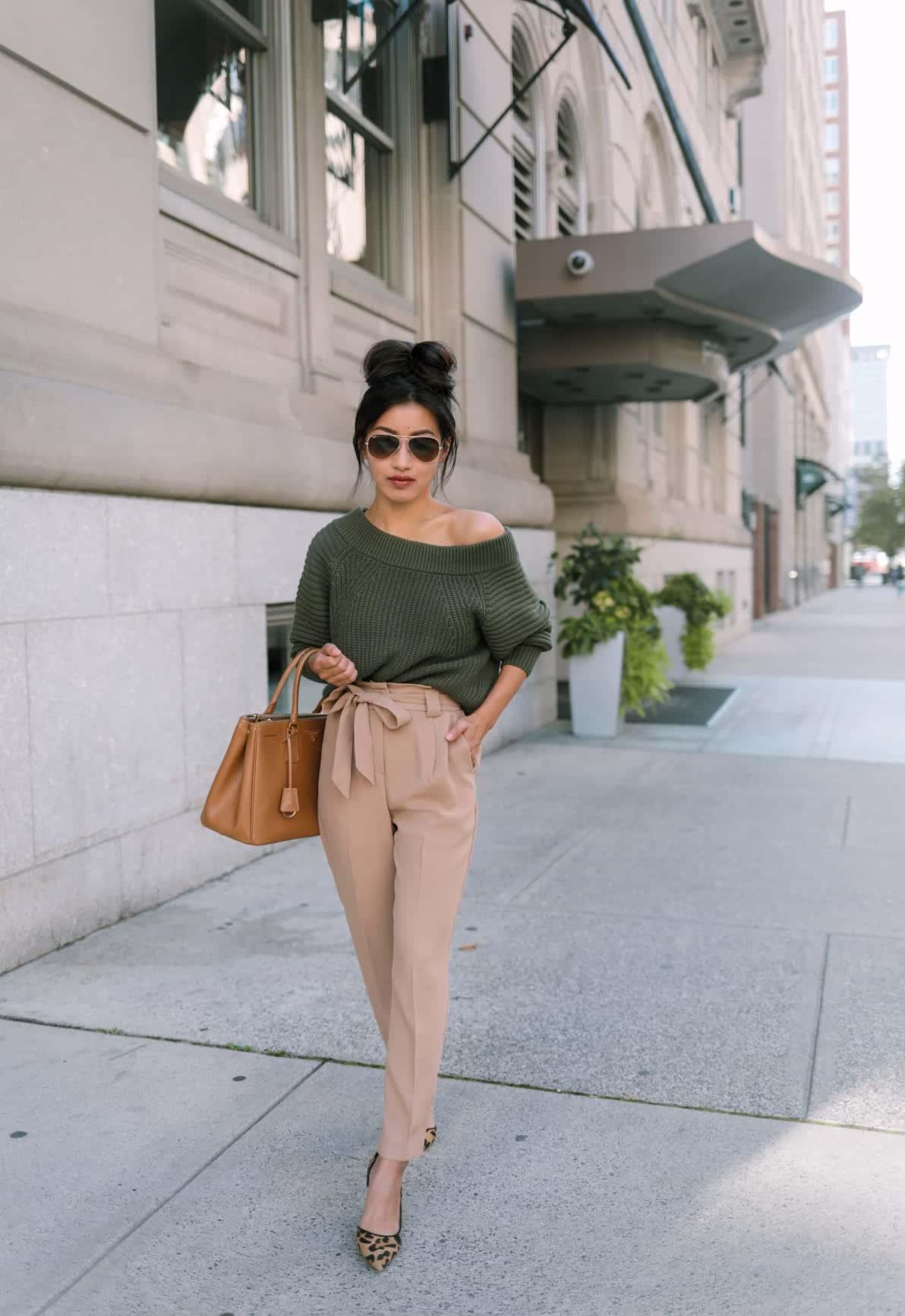 paperbag pants petites