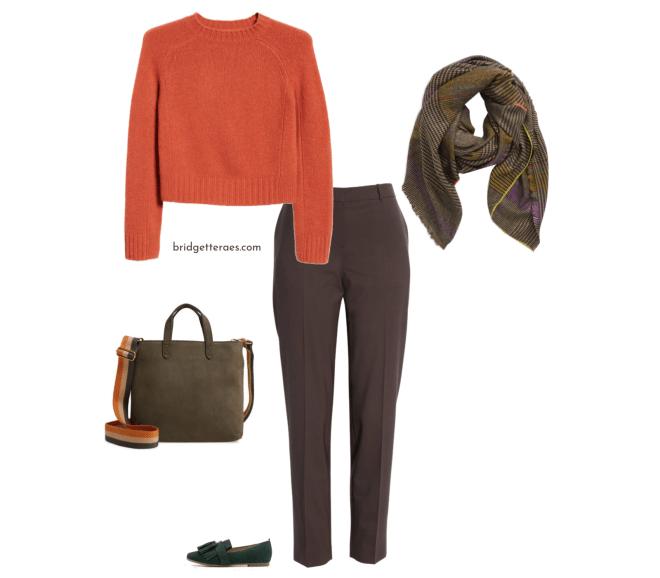 How to Wear Brown Pants | Bridgette Raes Style Expert