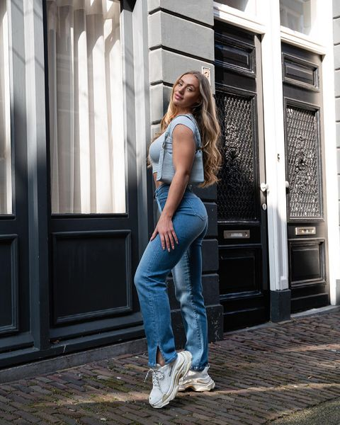 How to Style High-waisted Jeans - What to Wear with HWJ?