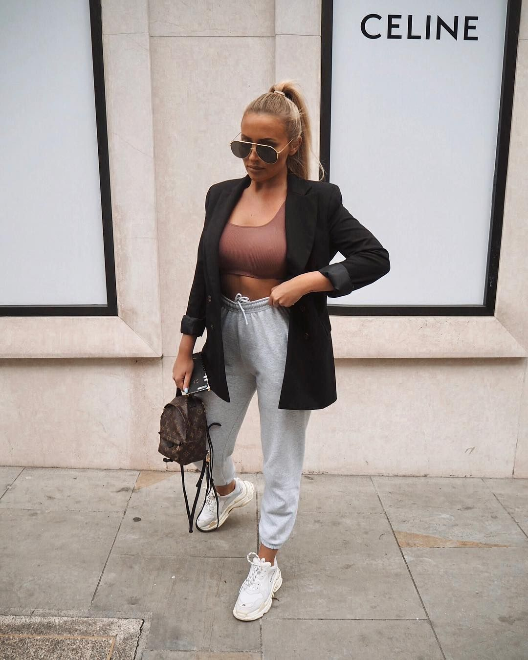 """SARAH ASHCROFT on Instagram: """"""""Maybe if I wear a blazer no one will notice that I'm actually being lazy and wearing jogg… 