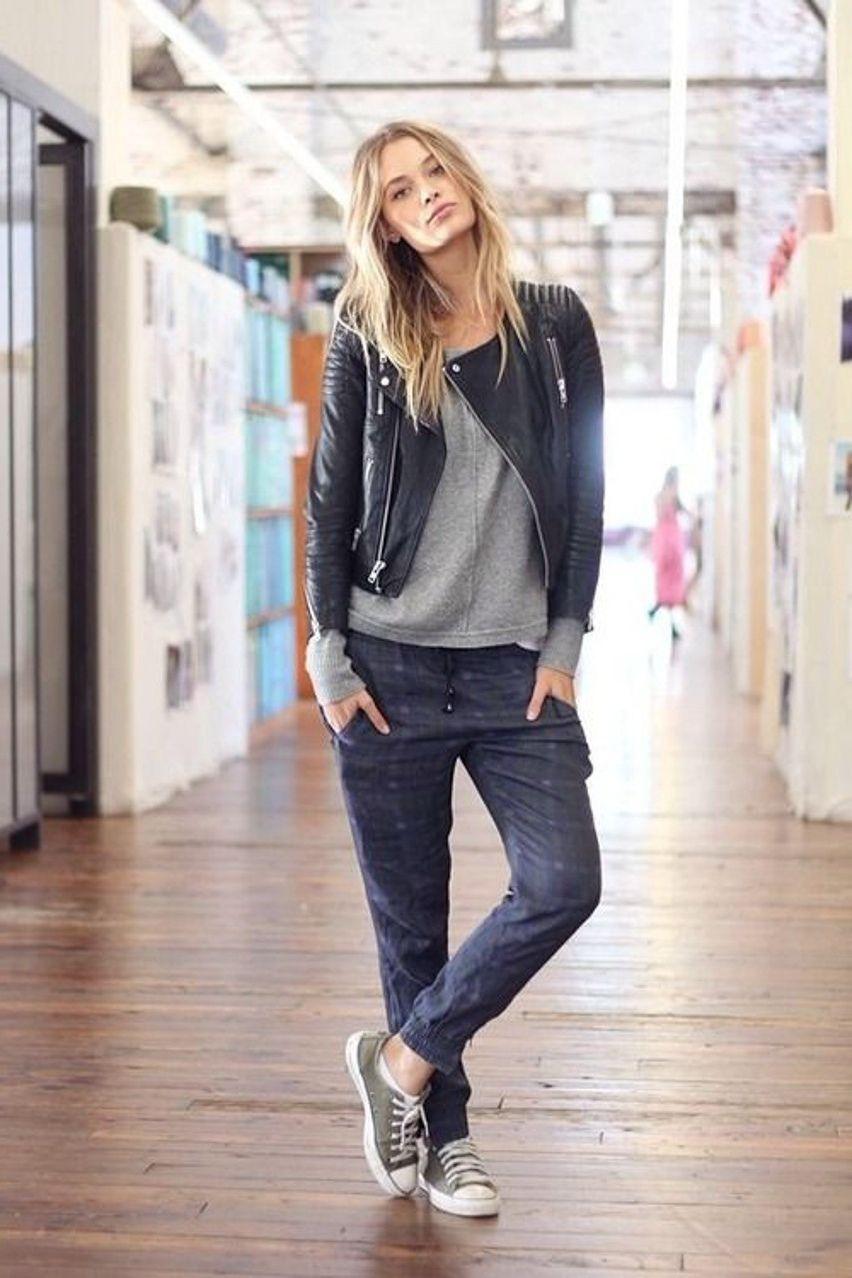 casual | How to wear sweatpants, Tomboy fashion, Fashion