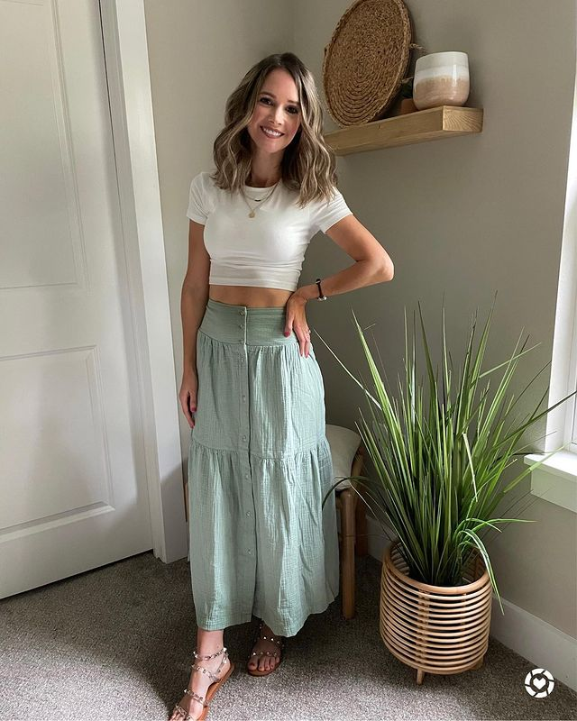 How to Wear Long Skirts – Best Long Skirt Outfit Ideas