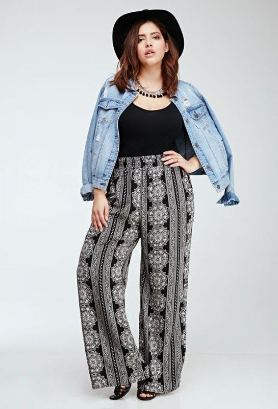 plus size palazzo pants outfits cheap online