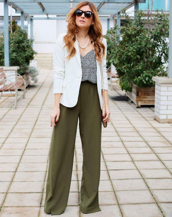 15 Ways To Pull Off Palazzo Trend This Season - LooksGud.in | Fashion, Work outfits women, Palazzo pants outfit