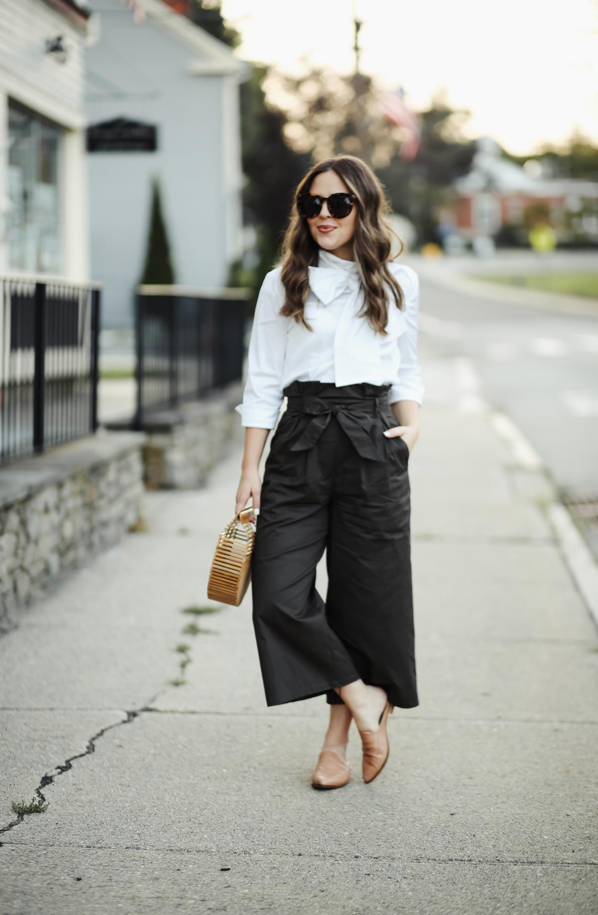 trend to try: the paperbag waist. - dress cori lynn