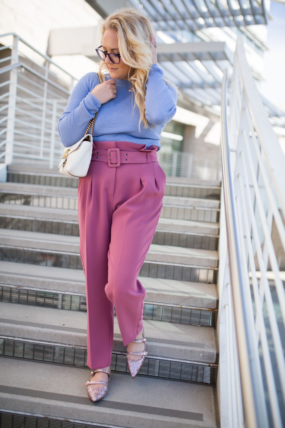 How to Wear Paperbag Waist Pants - Have Need Want