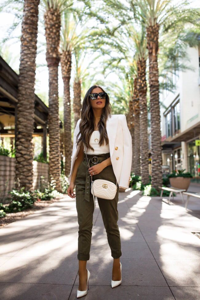 The Best Paperbag Waist Pants For Spring - Mia Mia Mine