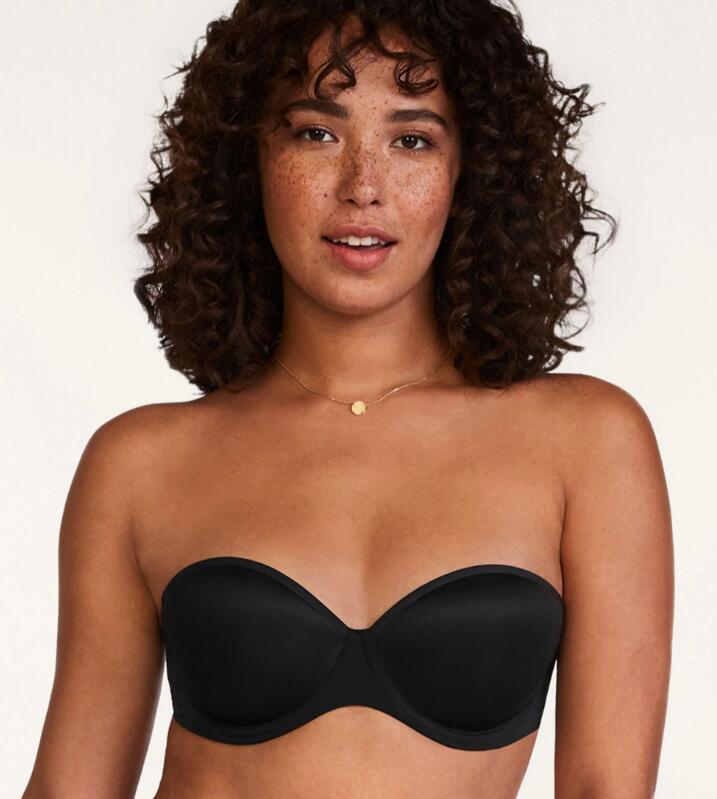 Best Big Boob Strapless Bra for Half-Size Fit: 24/7™ - Classic Strapless Bra