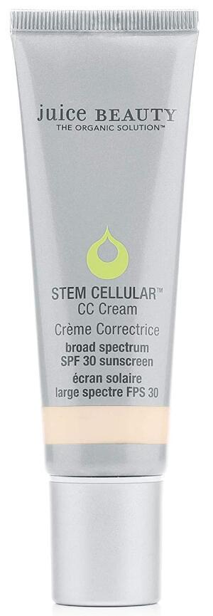 Juice Beauty Stem Cellular CC Cream with Zinc SPF 30, Color-Correcting Face Moisturize