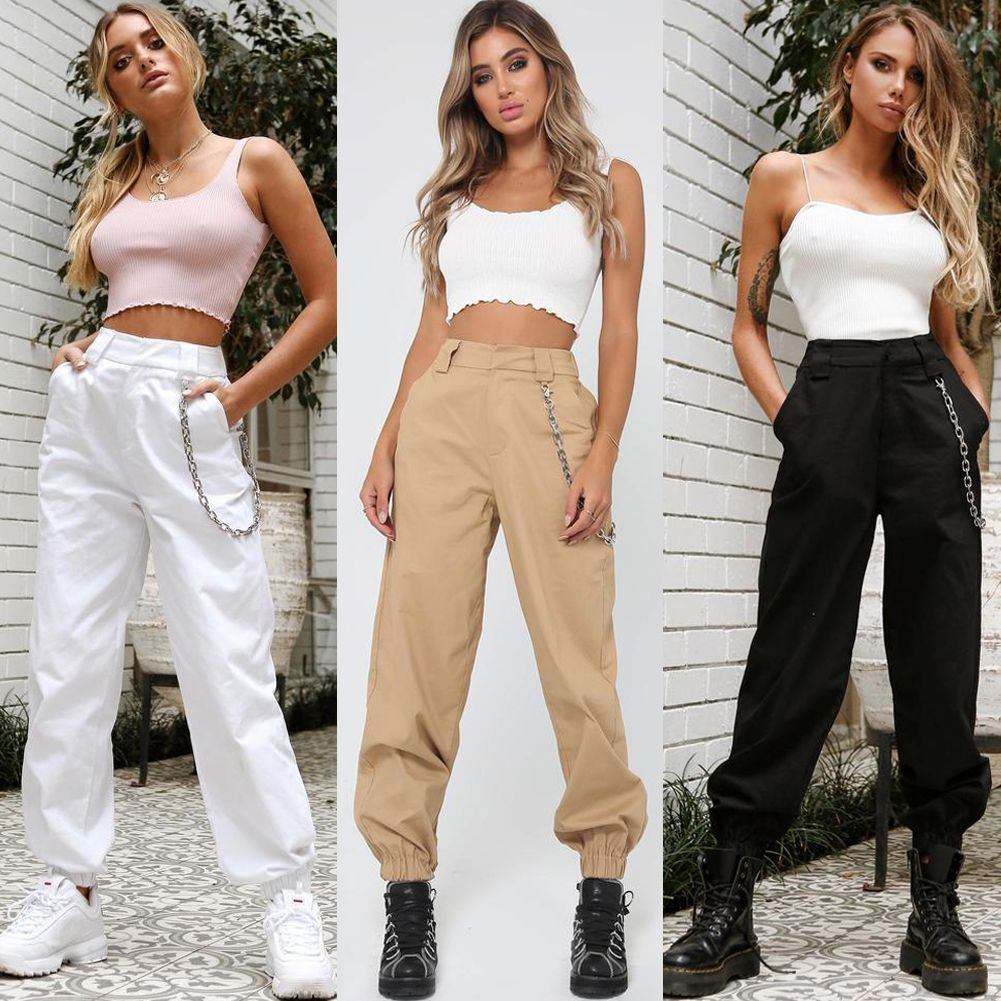 Women's Cargo Pant Outfit Ideas