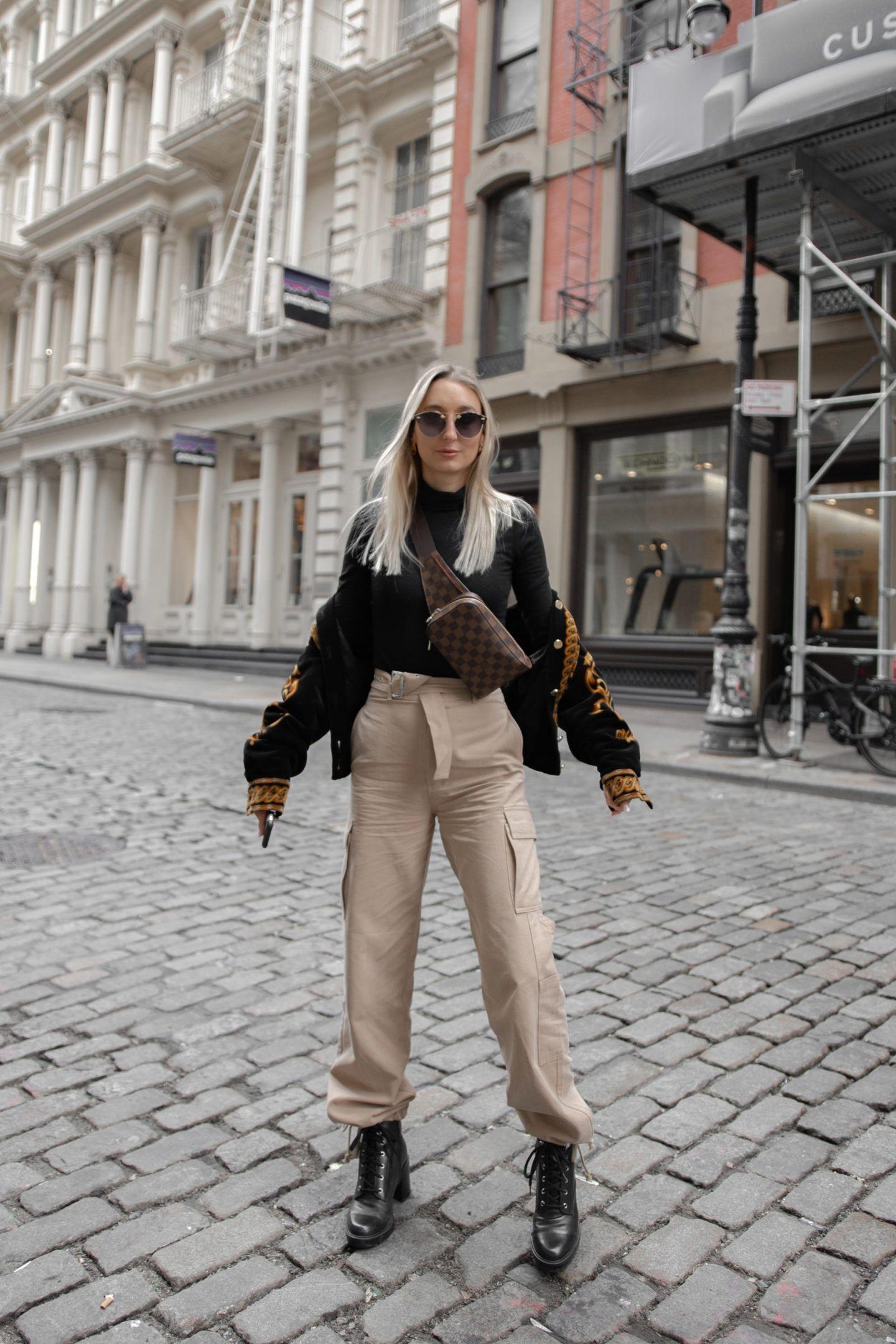 Cargo Pants, NYFW Street Style - Chiara | Nyfw street style, Cargo pants outfit, Cargo pants