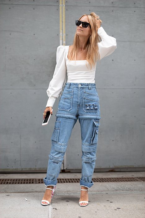 Cargo pants: How the street style set wears them today