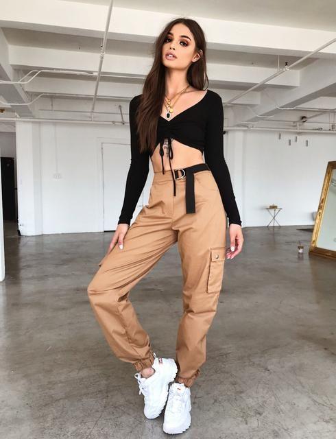 Aliyah Cargo Pant - Deep Tan | Fashion, Pants for women, Fashion outfits