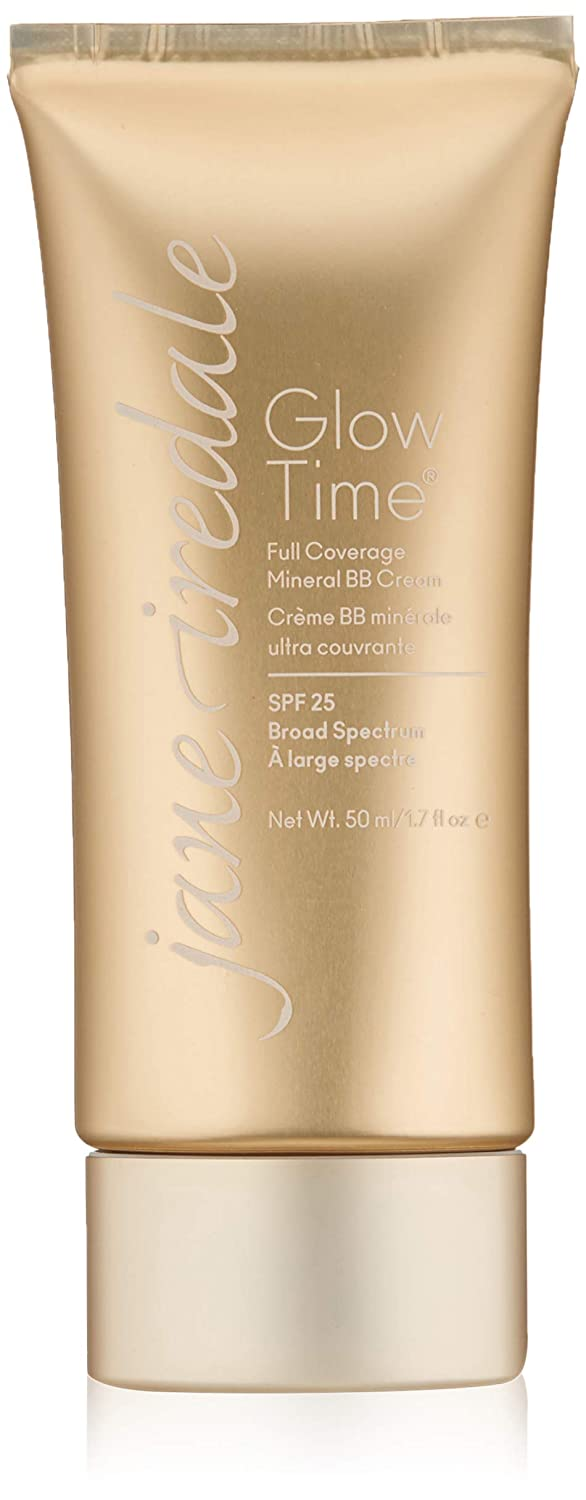 jane iredale Glow Time Full Coverage Mineral BB Cream | Foundation & Concealer with SPF for Normal Skin