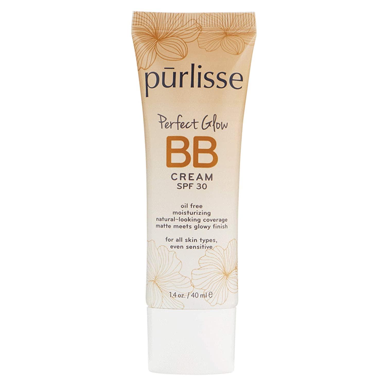 purlisse BB Tinted Moisturizer Cream SPF 30 -Best BB Cream for All Skin Types
