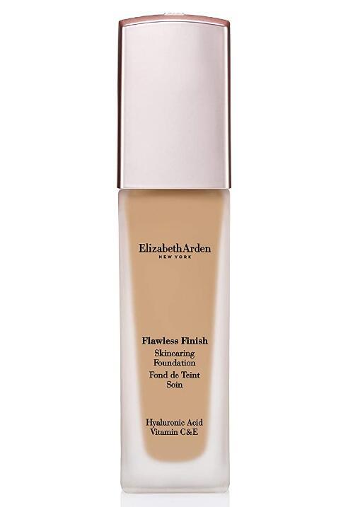 Elizabeth Arden Flawless Finish Skincaring Foundation with Hyaluronic Acid, Vitamin C & E
