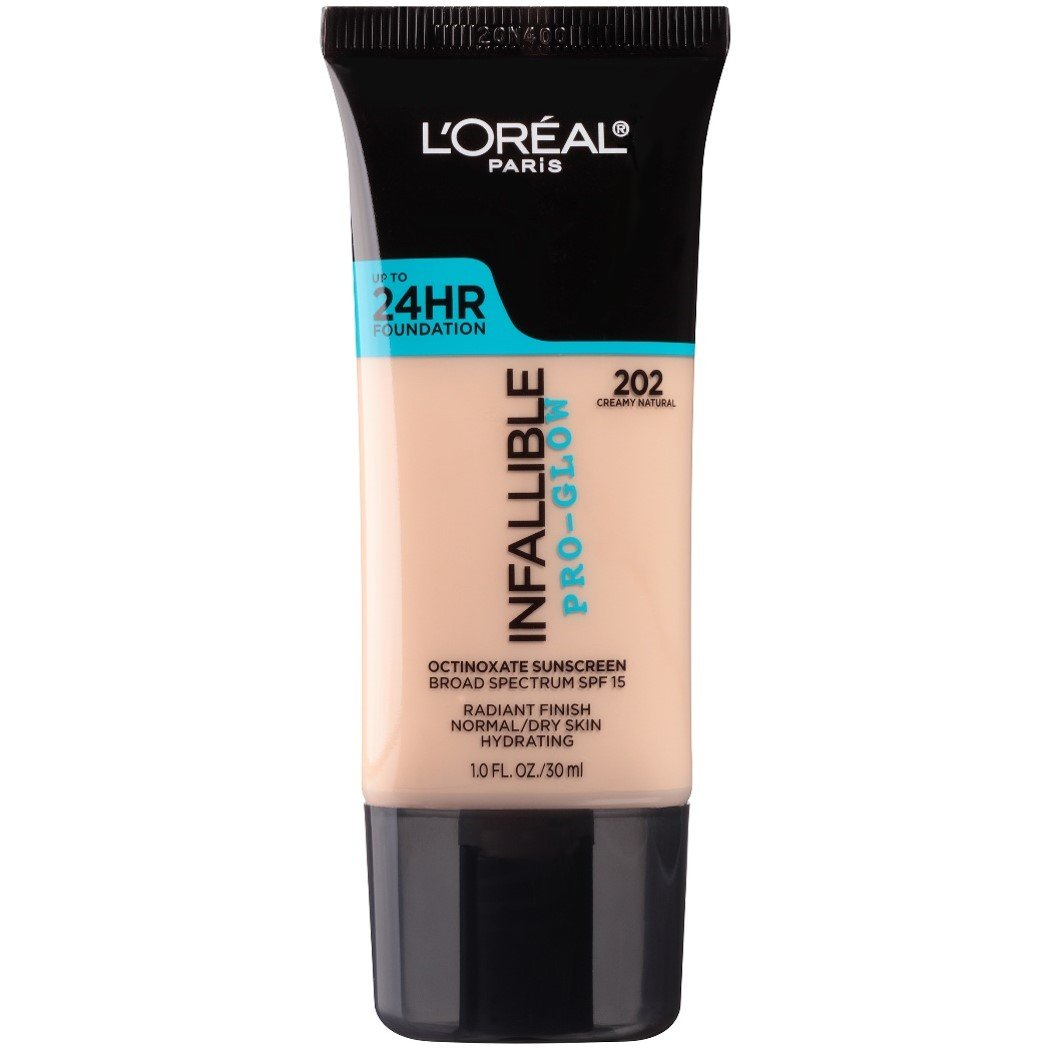 L'Oreal Paris Makeup Infallible Pro-Glow Foundation for Dry Skin herstylecode.com