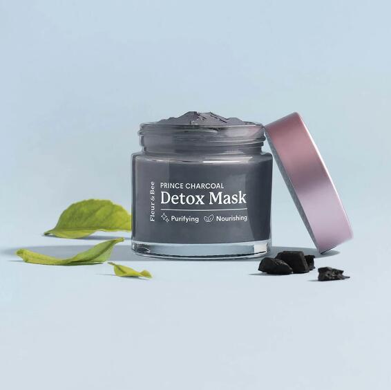 NATURAL DETOX MASK Prince Charcoal