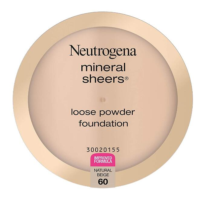 Neutrogena Mineral Sheers Lightweight Loose Powder Makeup Foundation