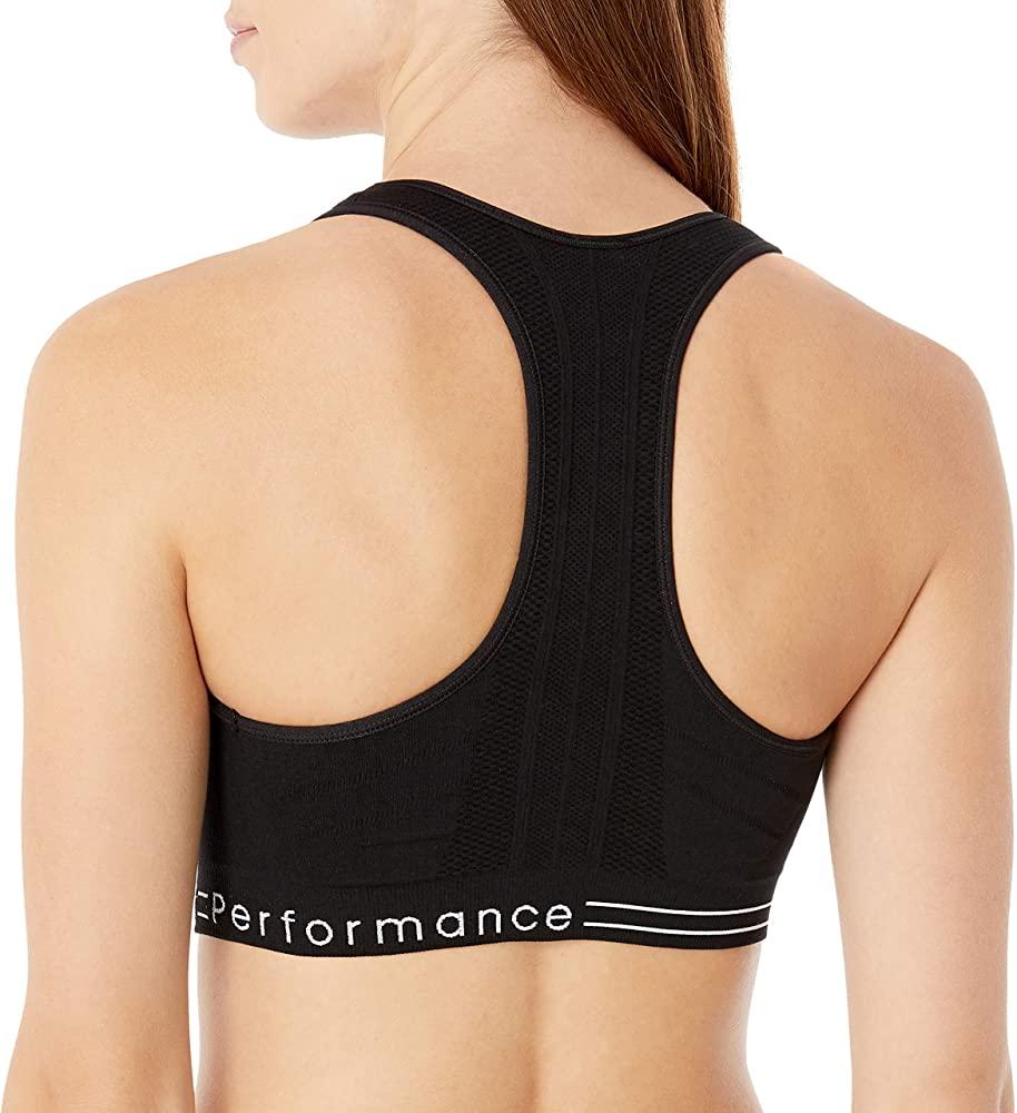 back view of Calvin Klein - Women's Premium Performance Medium-Impact Sports Bra