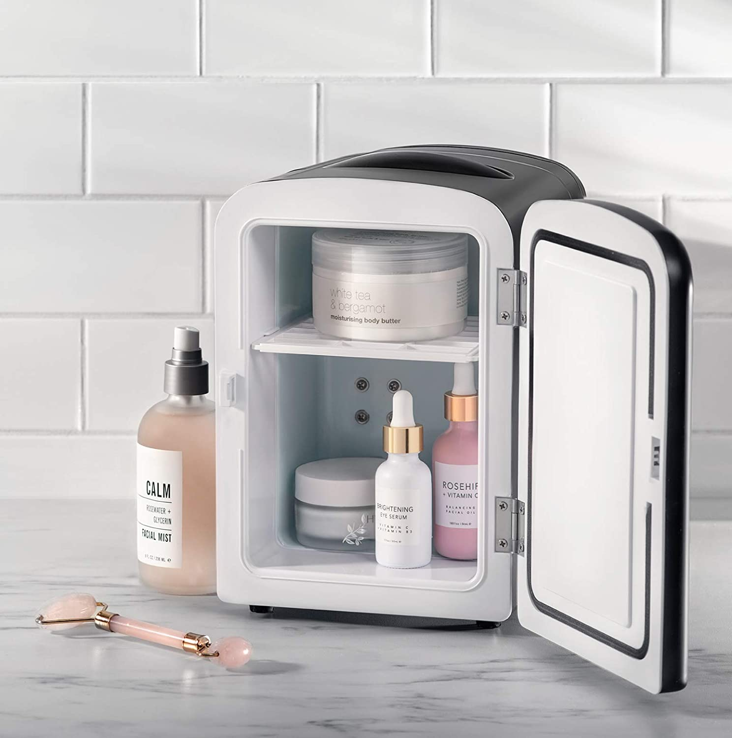 best Mini Portable beauty Fridge- Cools Or Heats and Provides Compact Storage For Skincare