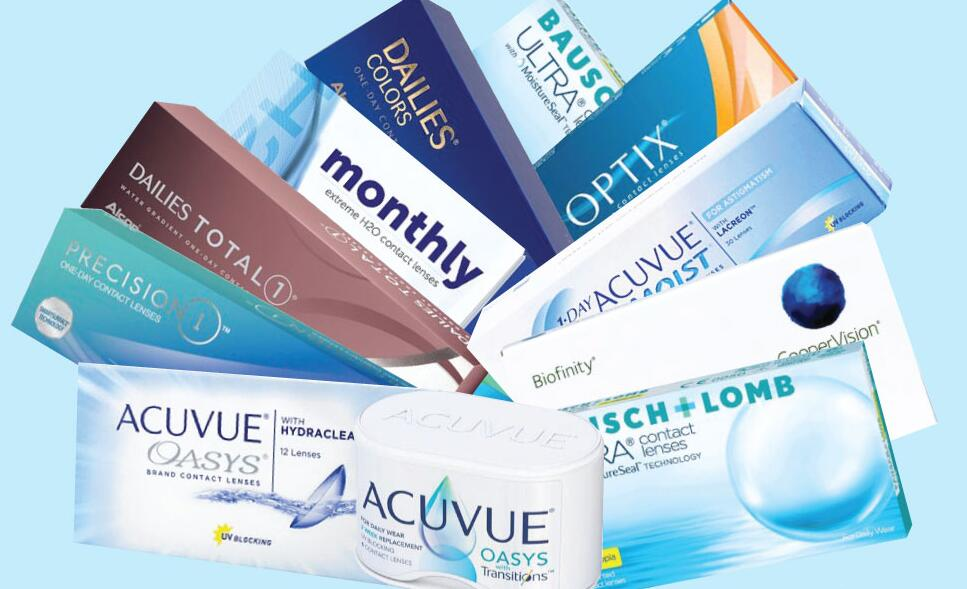 contact lenses brands in the world