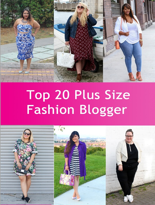 Top 20 Plus Size Fashion Bloggers Right Now Her Style Code