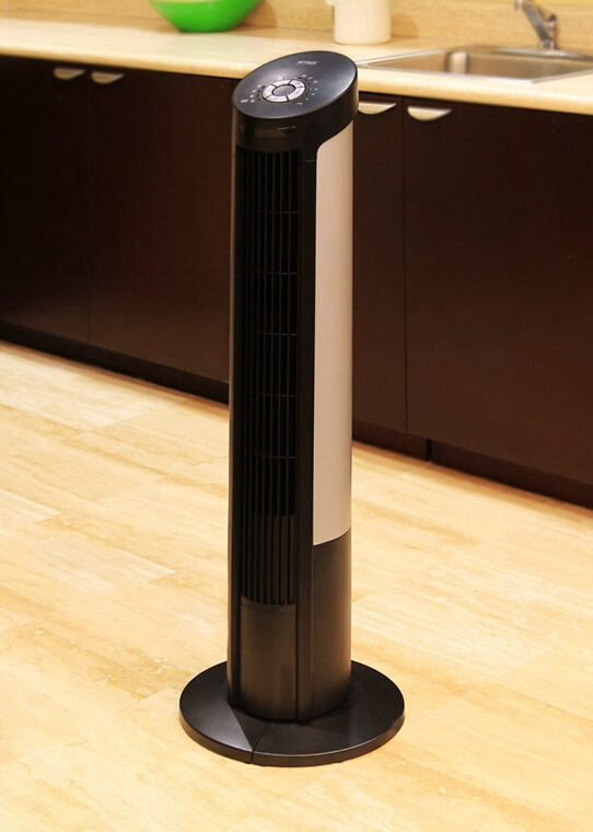 Seville Classics UltraSlimline Tower Fan, 40-inch Tower Fan