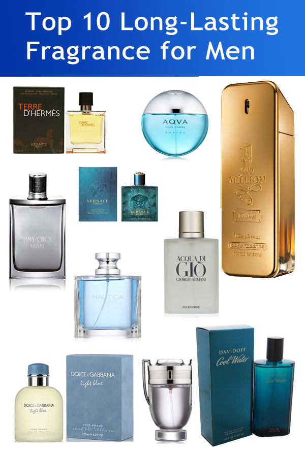 Top 10 Best Long-Lasting Perfumes/Fragrance for Men