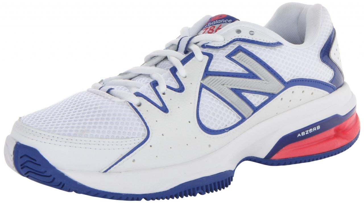 New Balance Women's WC786 Cushion Tennis Shoe