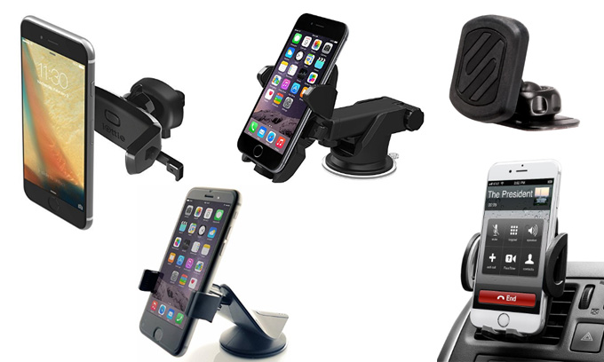 best-Car-Phone-Mount-Holders-for-IPhone-Samsung
