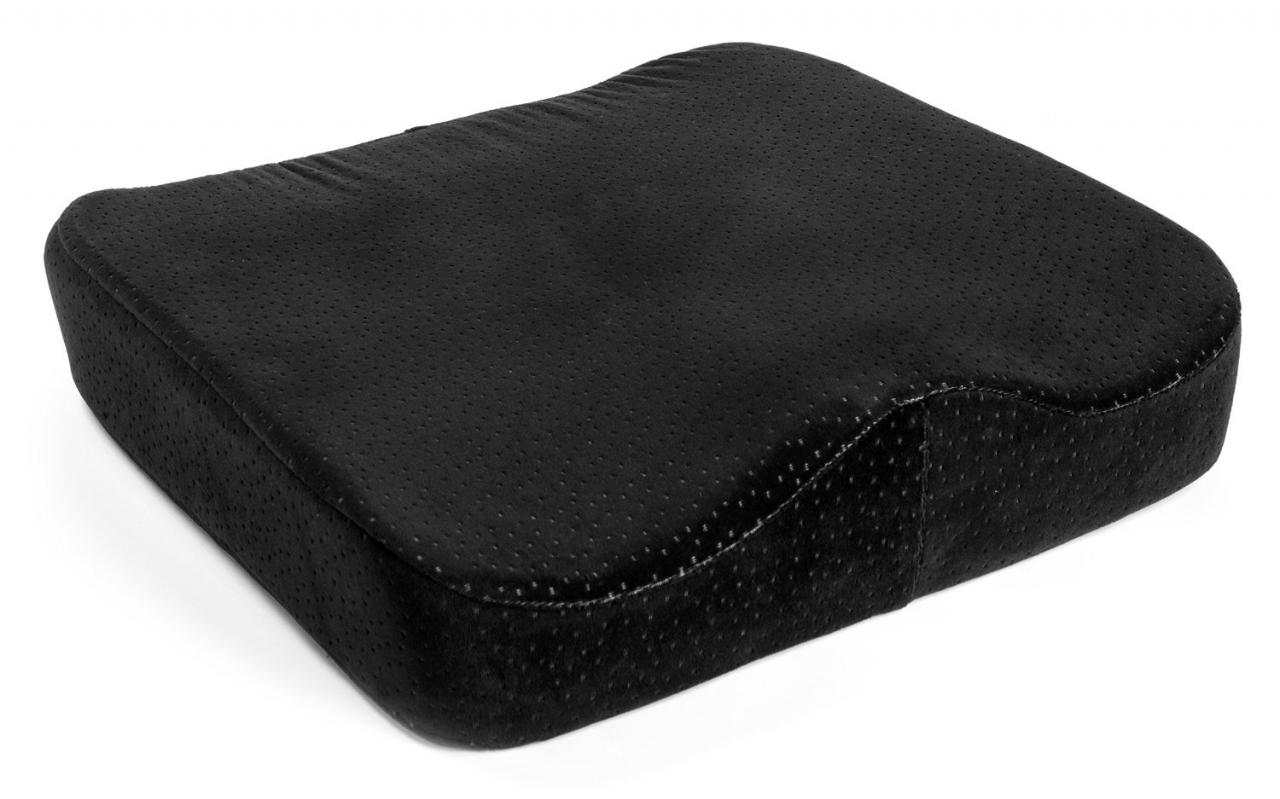 Memory Foam Seat Cushion Luxury fice Chair Pad with a Buckle to Prevent Sliding by Aeris