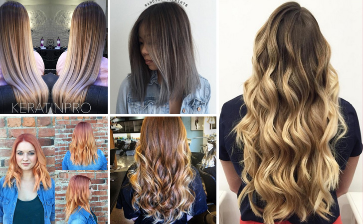 2018 Hairstyle For Dark Hair Color: 30 Hottest Ombre Hair Color Ideas 2018