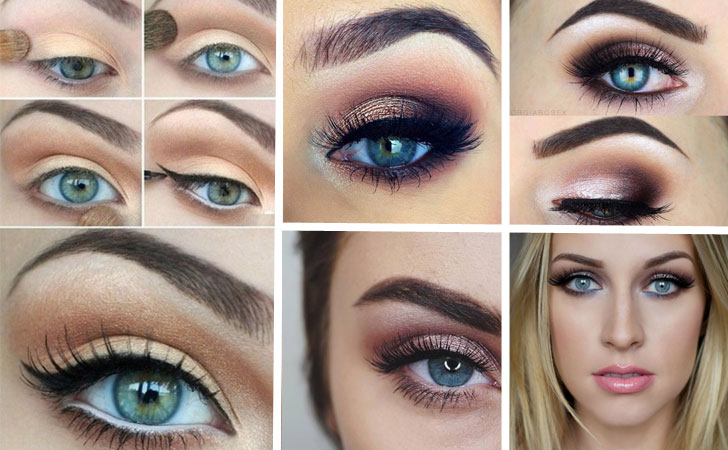 5 Ways To Make Blue Eyes Pop With Proper Eye Makeup Her
