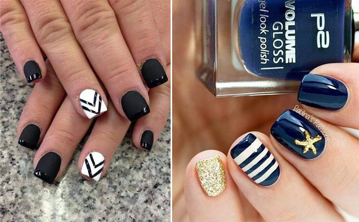 30 Really Cute Nail Designs You Will Love - Nail Art Ideas 2018 - Her Style  Code - 30 Really Cute Nail Designs You Will Love - Nail Art Ideas 2018