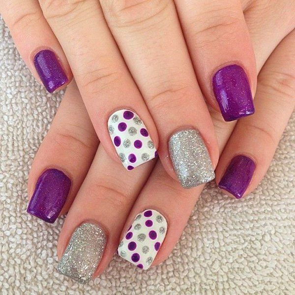 28 really cute nail designs you will love nail art ideas her cute nail designs prinsesfo Images