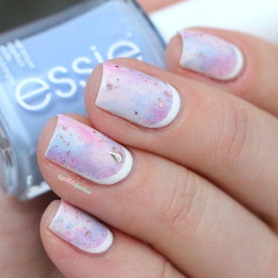 30 really cute nail designs you will love nail art ideas 2018 galaxy nail design solutioingenieria Images