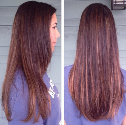 Long Sleek And Subtle Hair For S Ombre Hairstyles Color Ideas
