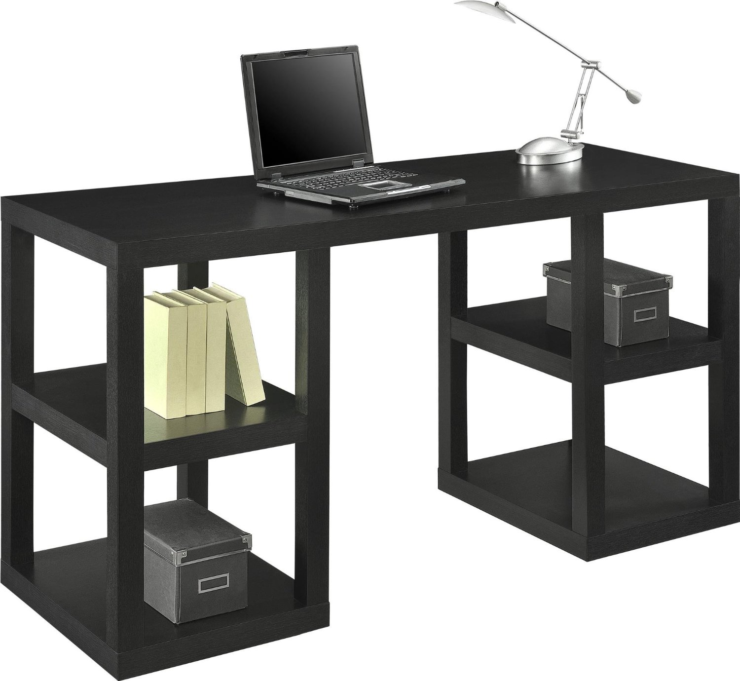 modern tribesigns pc com hutches simple office for desks home style desk computer laptop b study table amazon workstation