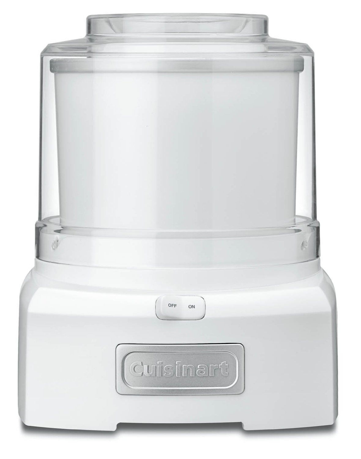 Ice Cream Maker Reviews Part - 16: Conair Cuisinart 1.5 Quart Frozen Yogurt-Ice Cream Maker