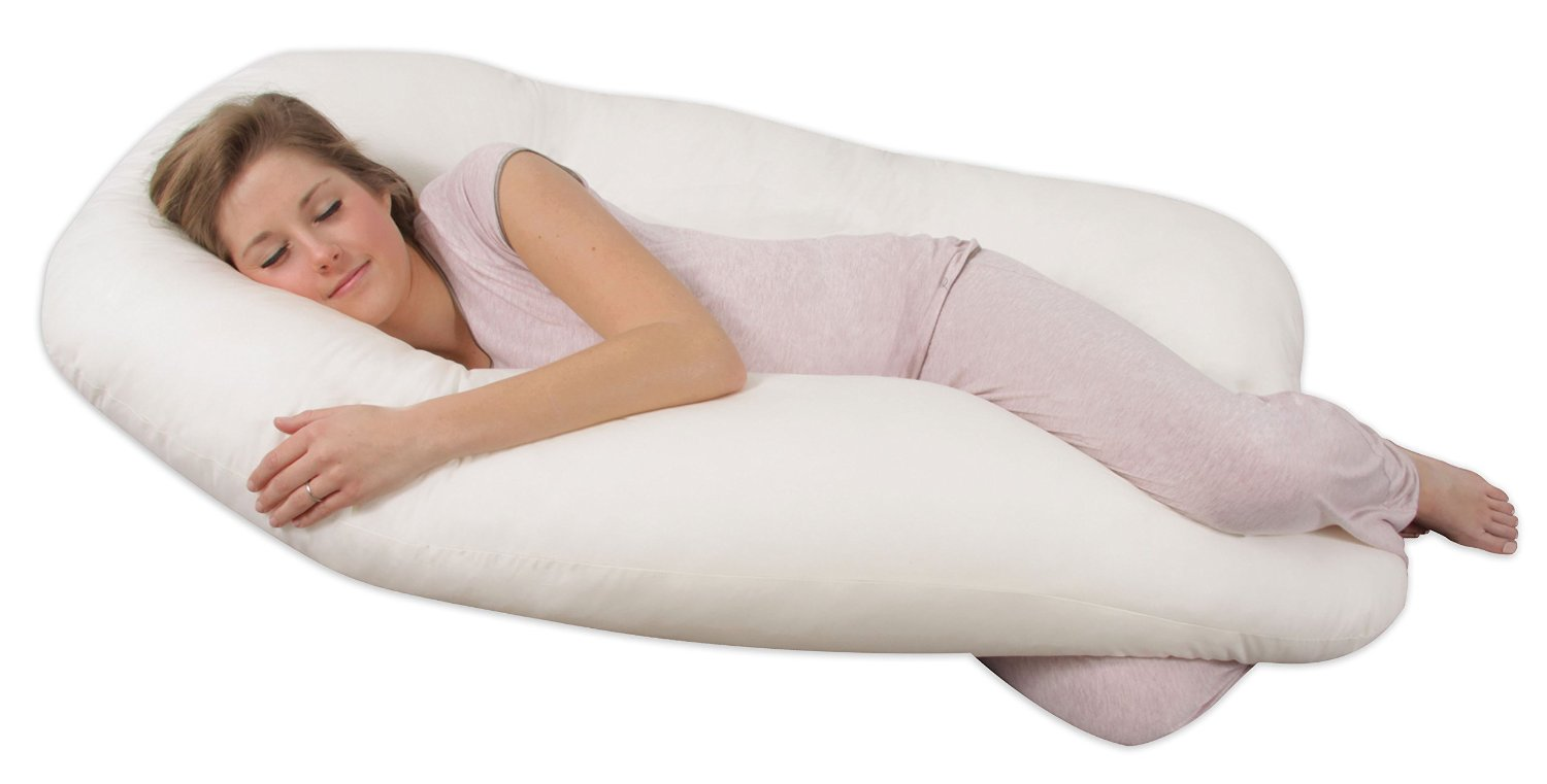 Top 10 Best Pregnancy Pillows - Perfect Pregnancy Sleeping Pillows