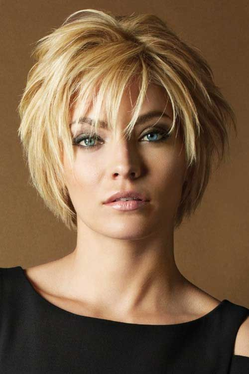 2017 short hairstyles for women over 50