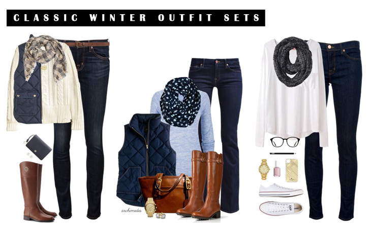 12 Best Classic Polyvore Outfits For Winter 2018 - Warm Winter Outfit Sets