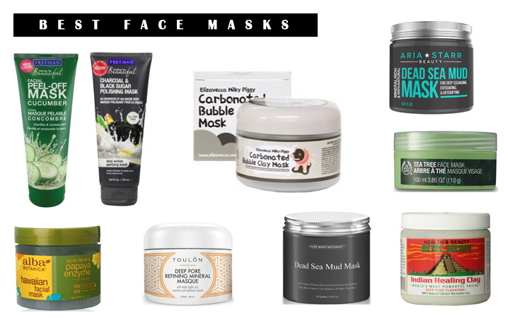 Best Face Masks - Hydrating and Clarifying Facial Masks