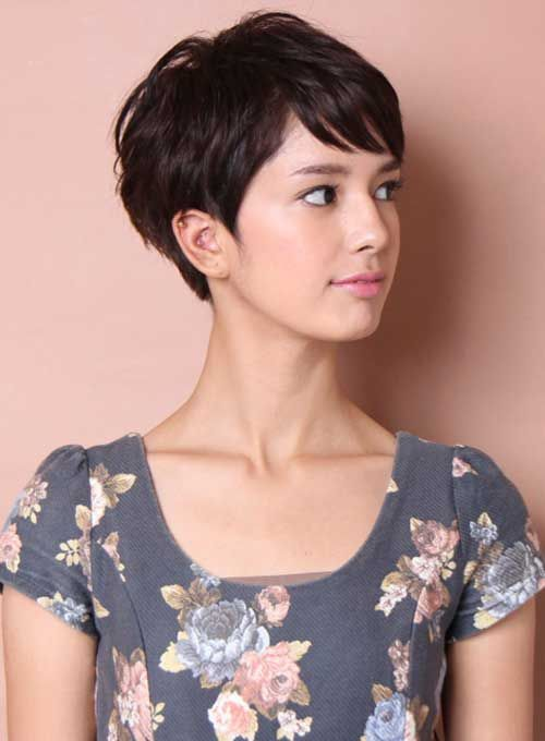 short pixie haircut 2017